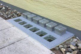 Lichtschacht-Abdeckung mit Hochwasserschutz